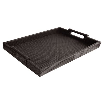 Yara Leather Tray in Brown BCHH9217 41969982