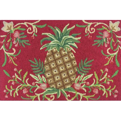 McIntosh Golden Pineapple Area Rug