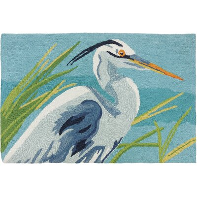 Barnstable Heron Light Blue/Teal Area Rug