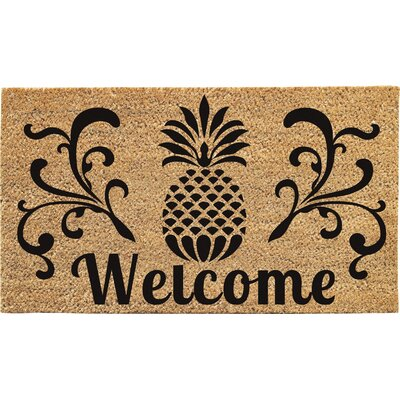 Haller Welcome Doormat