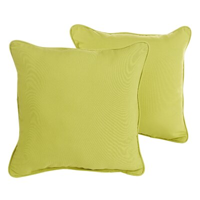 Keila Parrish Indoor/Outdoor Throw Pillow Size: 18 H x 18 W x 6 D