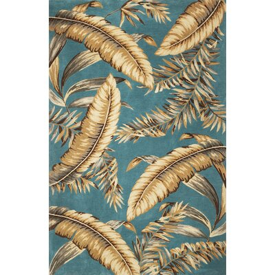 Murray Ferns Area Rug Rug Size: 53 x 83