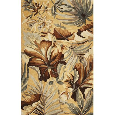Murray Beige Paradise Rug Rug Size: 36 x 56