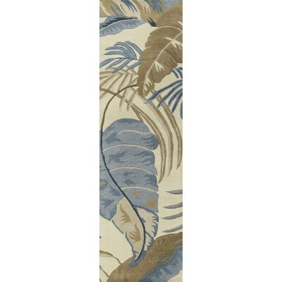Delview Rainforest Plants Area Rug Rug Size: Runner 23 x 8