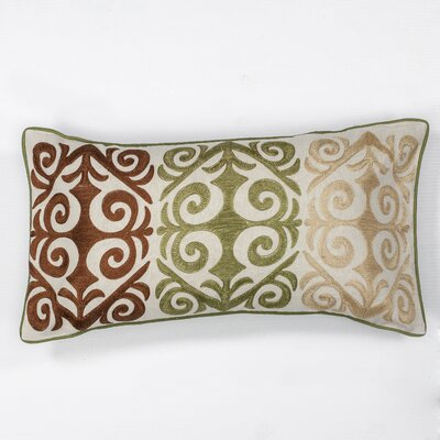 Roselawn Damask Lumbar Pillow