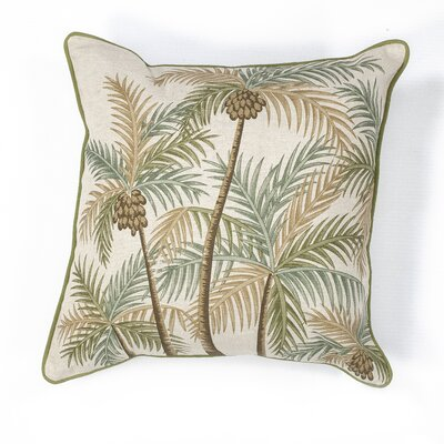 Corbin Palm Springs Cotton Throw Pillow
