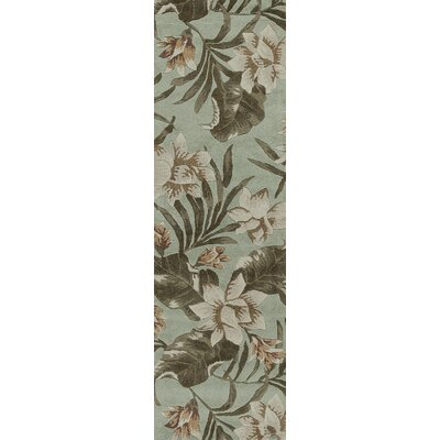 Delview Seafoam Serenity Area rug Rug Size: Rectangle 26 x 42
