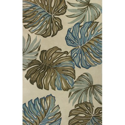 Murray Ivory Floria Area Rug Rug Size: Rectangle 86 x 116
