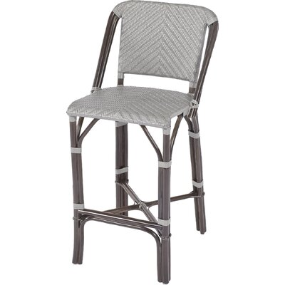Barre Rattan Bar Stool