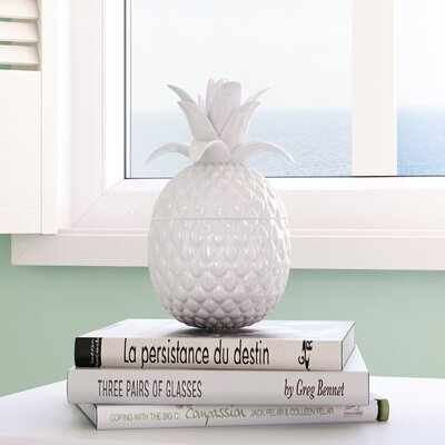 2 Piece Pineapple Sculpture Set