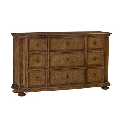 Gerakies 9 Drawer Dresser