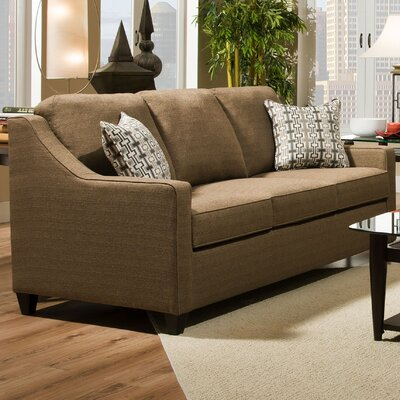 Simmons Upholstery Penarth Hide-A-Bed Sleeper Sofa Upholstery: Caf�