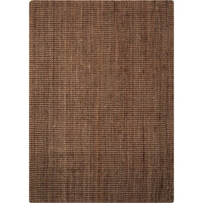 Leonila Handmade Brown Area Rug Rug Size: Rectangle 5 x 7