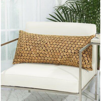 Amherst 100% Cotton Button Lumbar Pillow