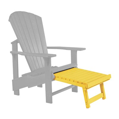 Trinidad Footstool Color: Yellow