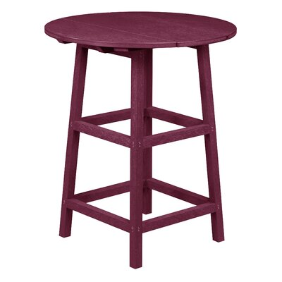 Zander Pub Table Finish: Bordeaux