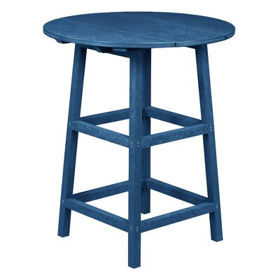 Zander Pub Table Finish: Cobalt Blue