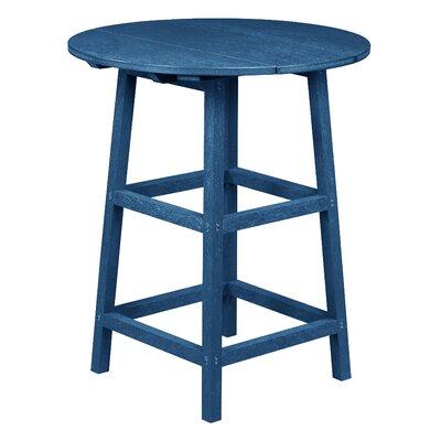 Aloa Pub Table Finish: Cobalt Blue