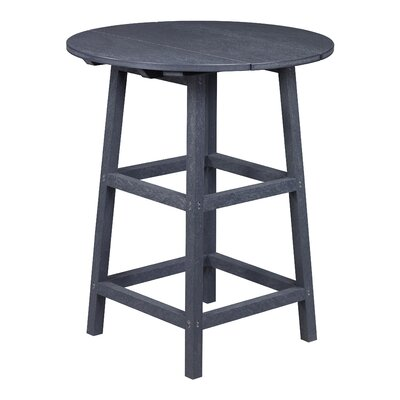 Aloa Pub Table Finish: Graystone