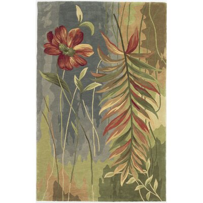 Murray Multicolor Island Oasis Area Rug Rug Size: Rectangle 53 x 83