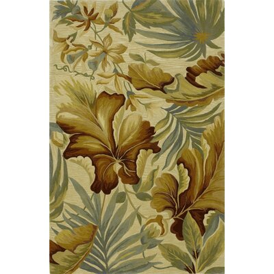Murray Ivory Paradise Area Rug Rug Size: Rectangle 79 x 96