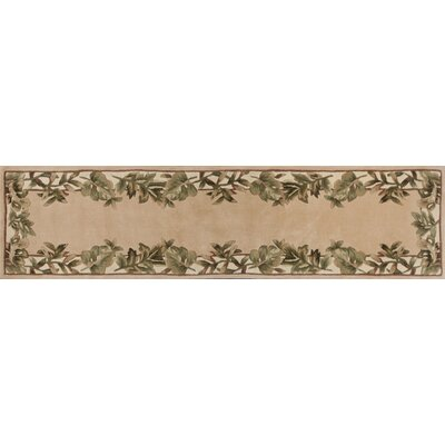 Westbridge Natural Fauna Area Rug Rug Size: 53 x 8