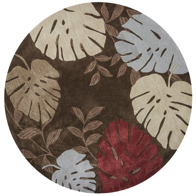 Bartow Mocha Fauna Area Rug Rug Size: Rectangle 23 x 39
