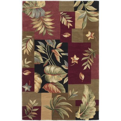 Murray Jeweltone Foliage Views Area Rug Rug Size: 79 x 96