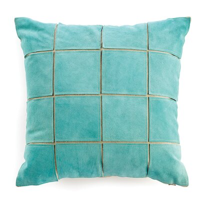 Salmon Throw Pillow Color: Blue
