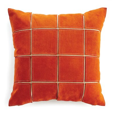 Salmon Throw Pillow Color: Orange