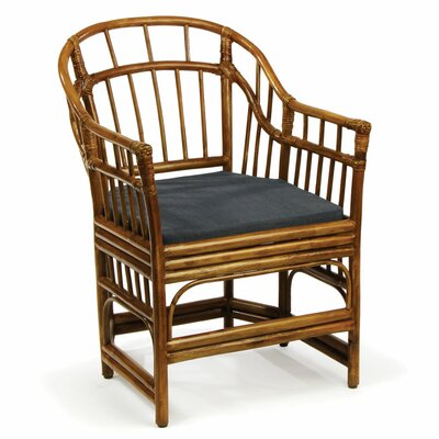 Pearlman Rattan Barrel Chair