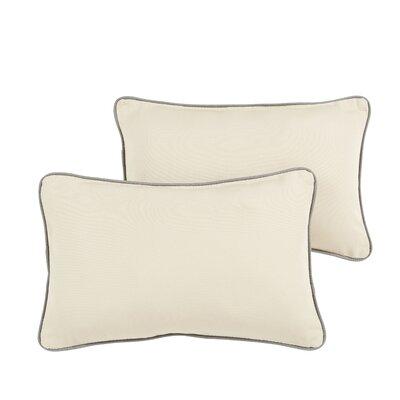Rosewood Indoor/ Outdoor Sunbrella Lumbar Pillow