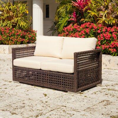Marianna Love Seat Fabric: Natural