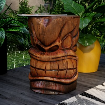 Elwanda Grand Tiki Sculptural Table