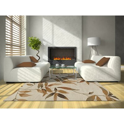Marysville Ivory Area Rug Rug Size: Rectangle 9 x 13