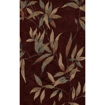 Marysville Cinnamon Area Rug Rug Size: Rectangle 36 x 56