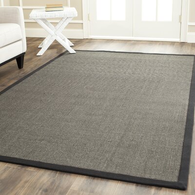 Greene Charcoal Area Rug Rug Size: 11 x 15