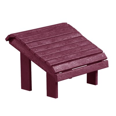 Zander Premium Ottoman Finish: Bordeaux