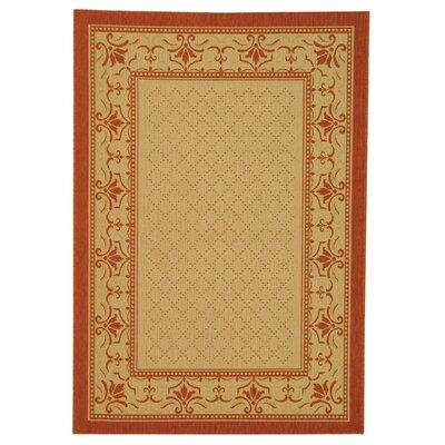 Amaryllis Classic Border Outdoor Rug Rug Size: 710 x 11