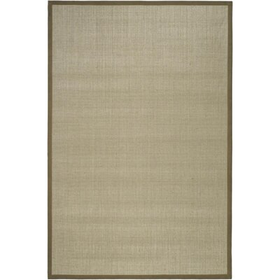 Greene Hand-Loomed Taupe / Light Brown Area Rug Rug Size: Rectangle 5 x 8