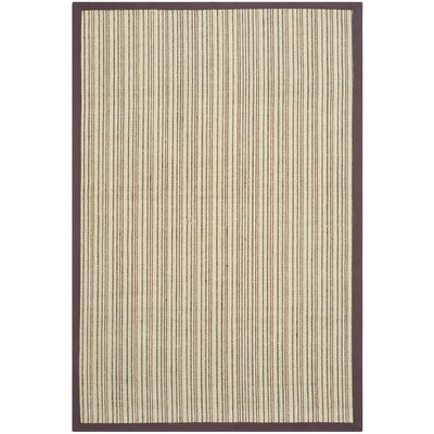 Greene Beige/Purple Area Rug Rug Size: Rectangle 6 x 9