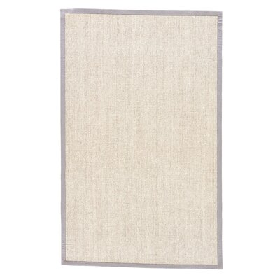 Mosqueda Plus Beige/Brown Solid Area Rug Rug Size: 5 x 8