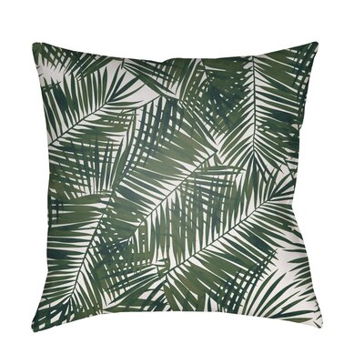 Cali Indoor/Outdoor Throw Pillow Size: 18 H x 18 W x 4 D
