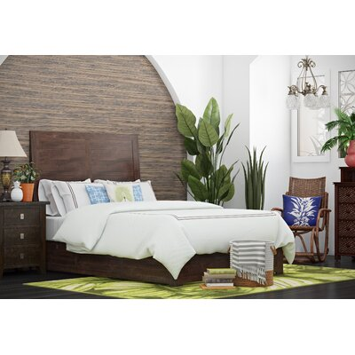 Oxalis Storage Platform Bed Size: Queen