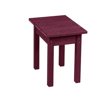 Zander Side Table Finish: Bordeaux