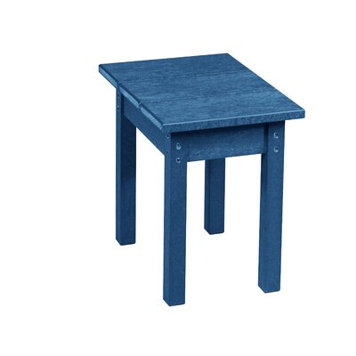 Zander Side Table Finish: Cobalt Blue