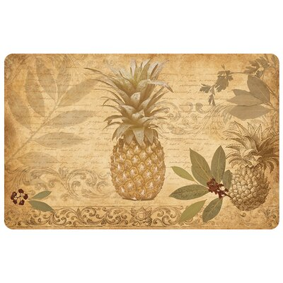 Stabler Pineapple Coast Kitchen Mat Rug Size: 110 x 27