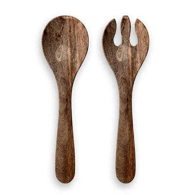 Beachcrest Home India 2 Piece Salad Server Set