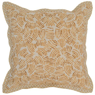 Rockfield Linen Throw Pillow Color: Yellow