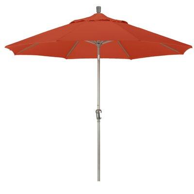 9' Market Umbrella Frame Finish: Champagne, Fabric: Terracota BAYI7132 37478832